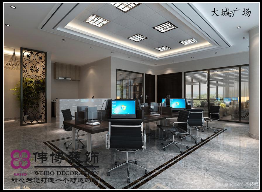 大成广场现代简约装修效果图实景图