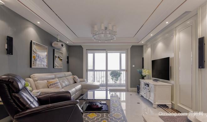 美林青城三期林与堂欧式风格装修效果图实景图