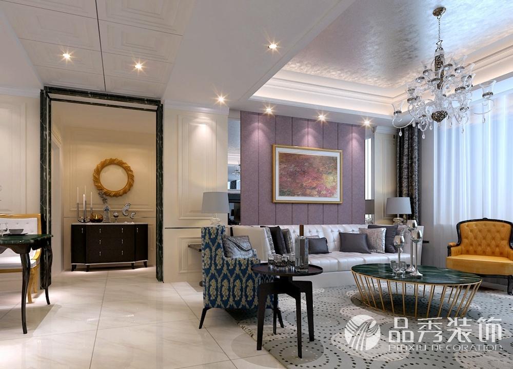 云珠花园样板房欧式风格装修效果图实景图