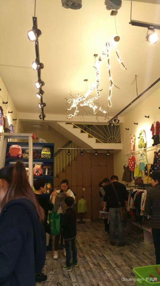 光彩大市场童装店混搭风格装修效果图实景图