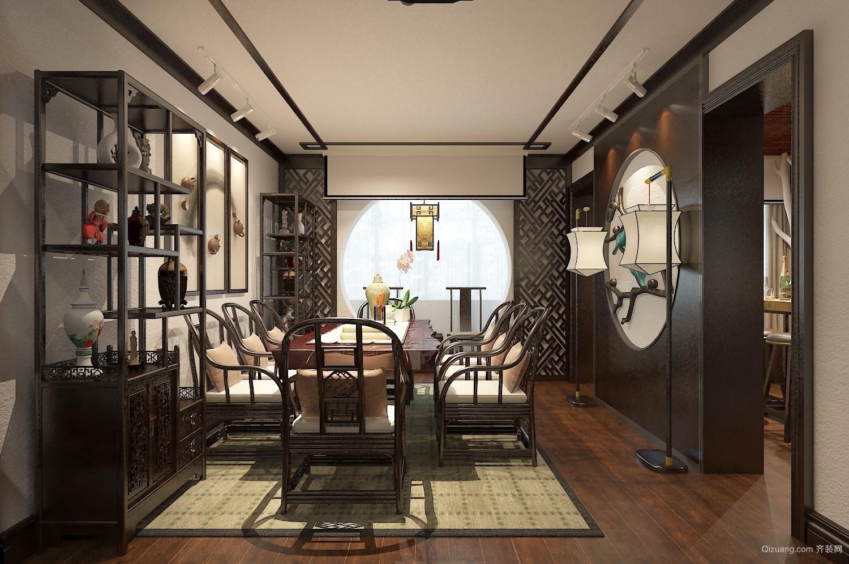 南湖住宅混搭风格装修效果图实景图