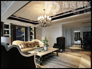 芜湖凤凰城180平古典风格装修效果图