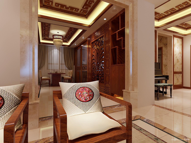 香邑溪谷中式风格装修效果图实景图