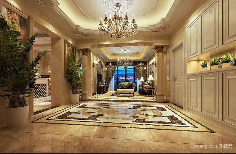 星城翠珑湾欧式风格装修效果图实景图