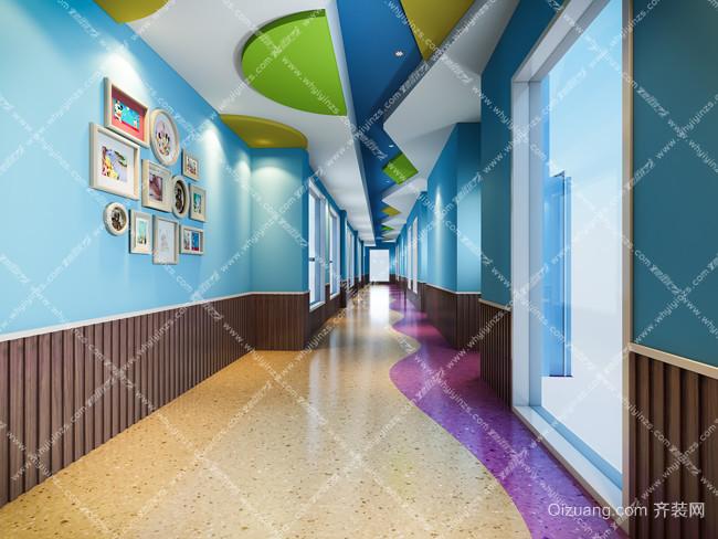金域国际六一幼儿园现代简约装修效果图实景图