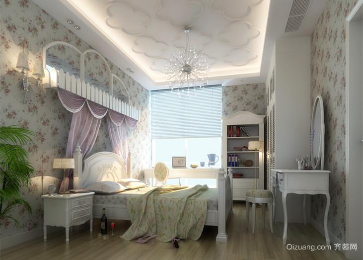 紫玉山庄别墅 欧式风格装修效果图实景图