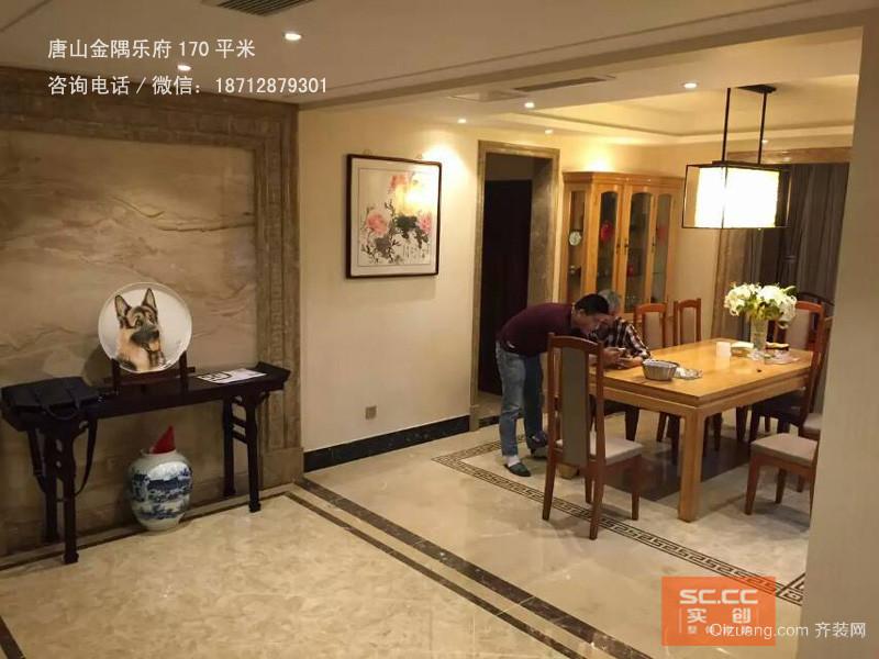唐山金隅乐府170平米茶墨与烟火其他装修效果图实景图