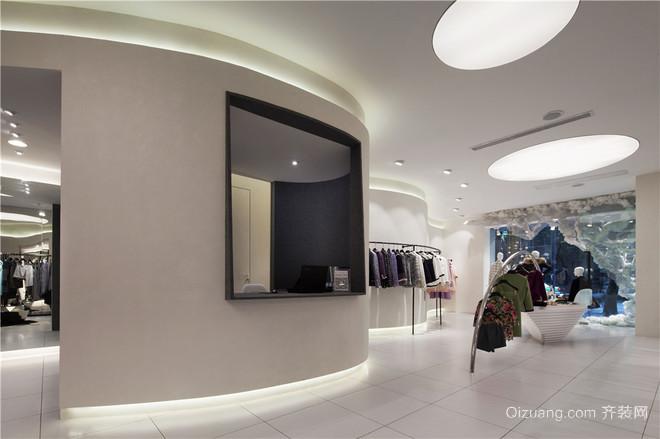 品牌店现代简约装修效果图实景图