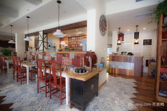 主题餐厅欧式风格装修效果图实景图