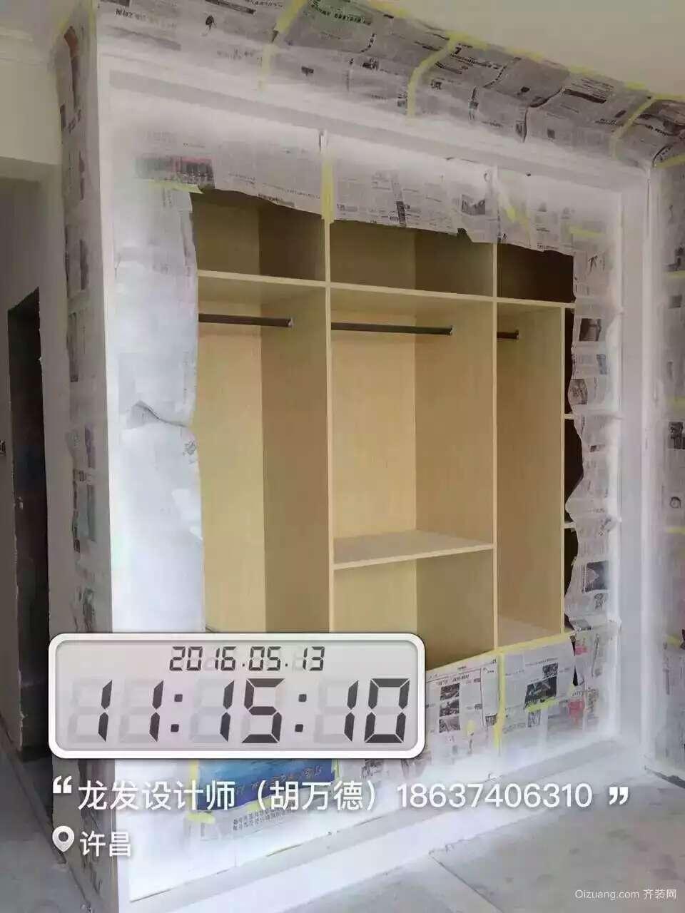 景鸿·东湖翡翠欧式风格装修效果图实景图