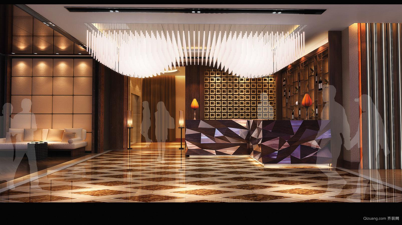 特色餐厅混搭风格装修效果图实景图