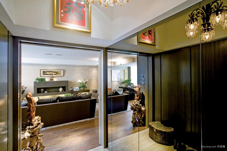 商务酒店中式风格装修效果图实景图