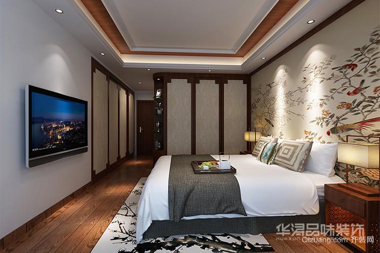 山海豪庭中式风格装修效果图实景图