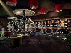 现代简约-非一般的时尚酒吧