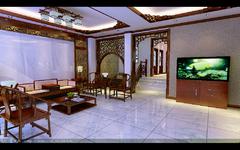 中式风格-怡景花园