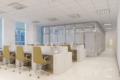 现代简约-天津康之居装饰办公室装修案例