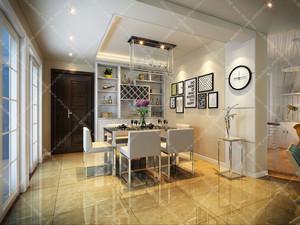 美加印象两居室设计