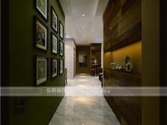 中式风格-中央城132平米欧式风格效果图案例