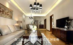 美式风格-弘昇装饰-苏宁城市之光现代美式风格