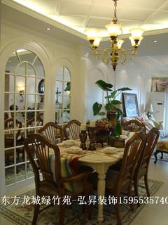 古典风格-东方龙城绿竹苑103平米古典风格