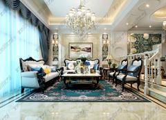 欧式风格-碧桂园联排别墅欧式设计