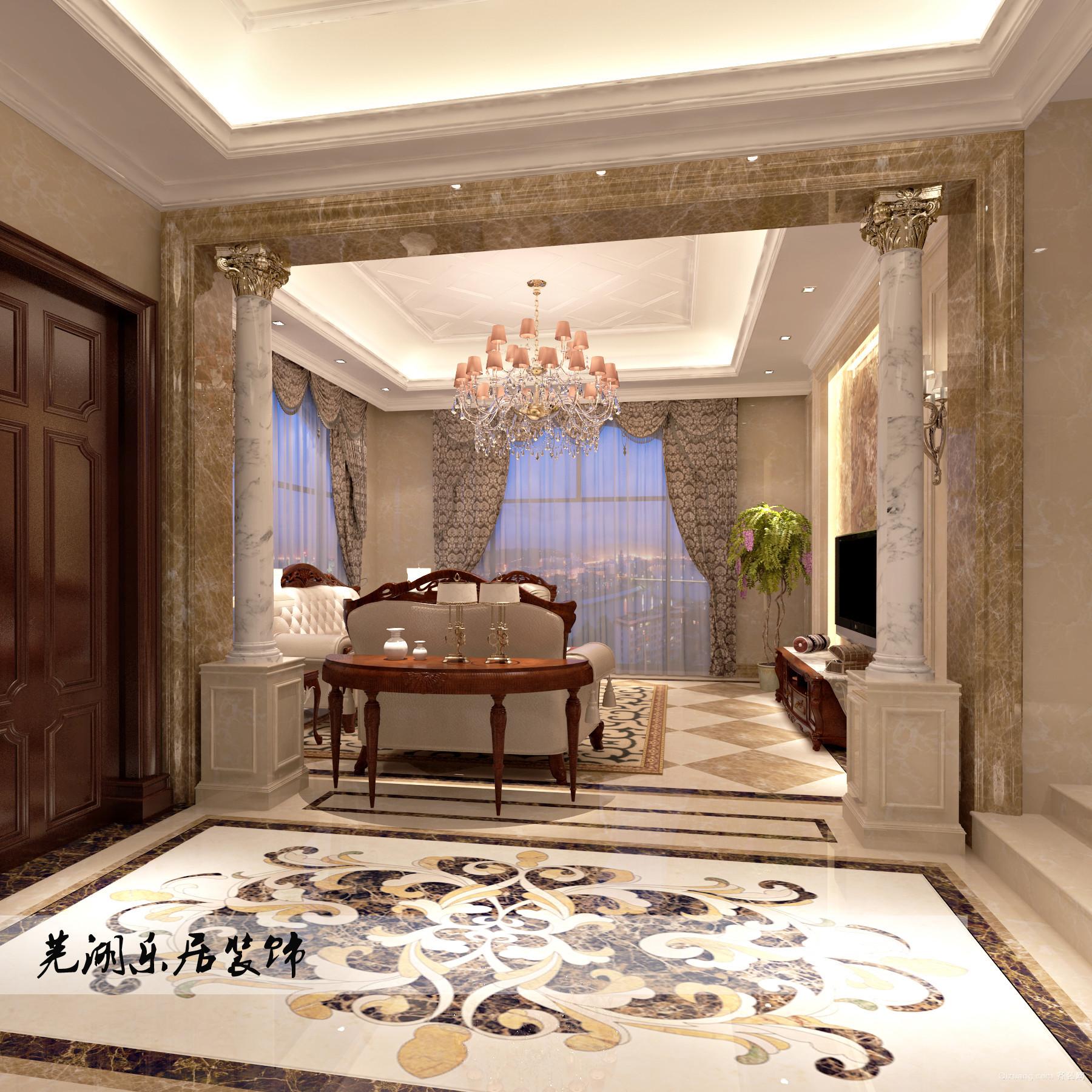 芜湖碧桂园欧式风格装修效果图实景图