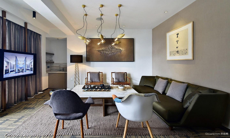 美邦大楼混搭风格办公室效果图混搭风格装修效果图实景图