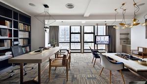 美邦大楼混搭风格办公室效果图