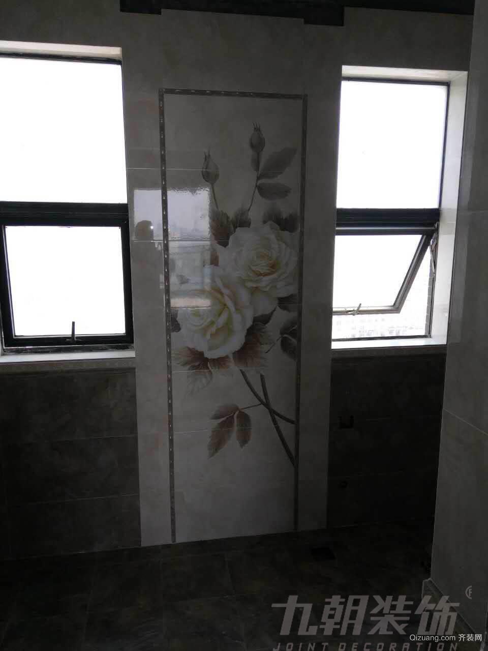 汉江新城网师苑欧式风格装修效果图实景图