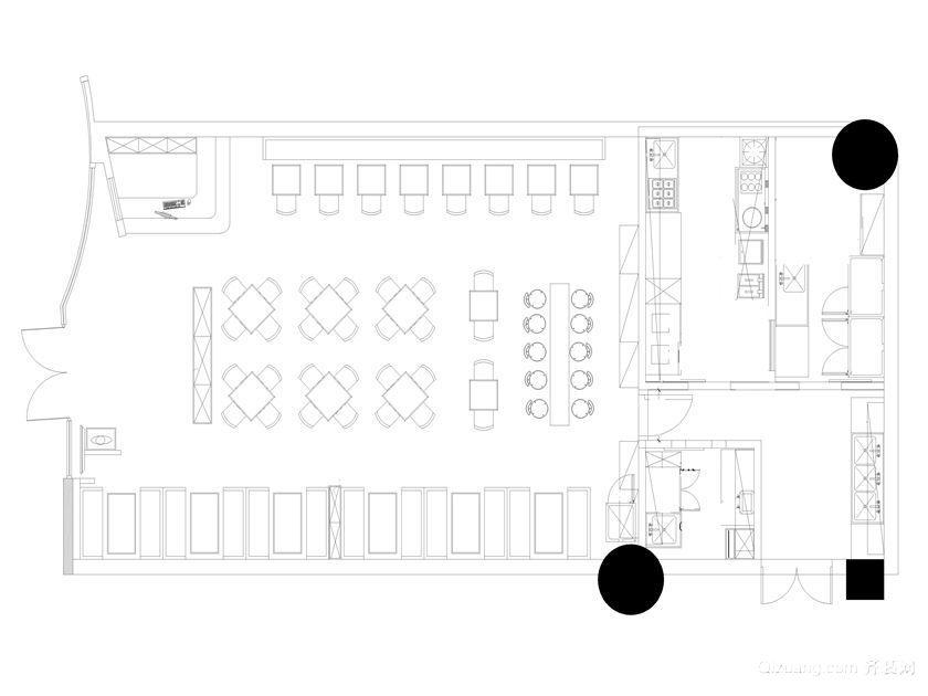 金融大厦现代简约装修效果图实景图