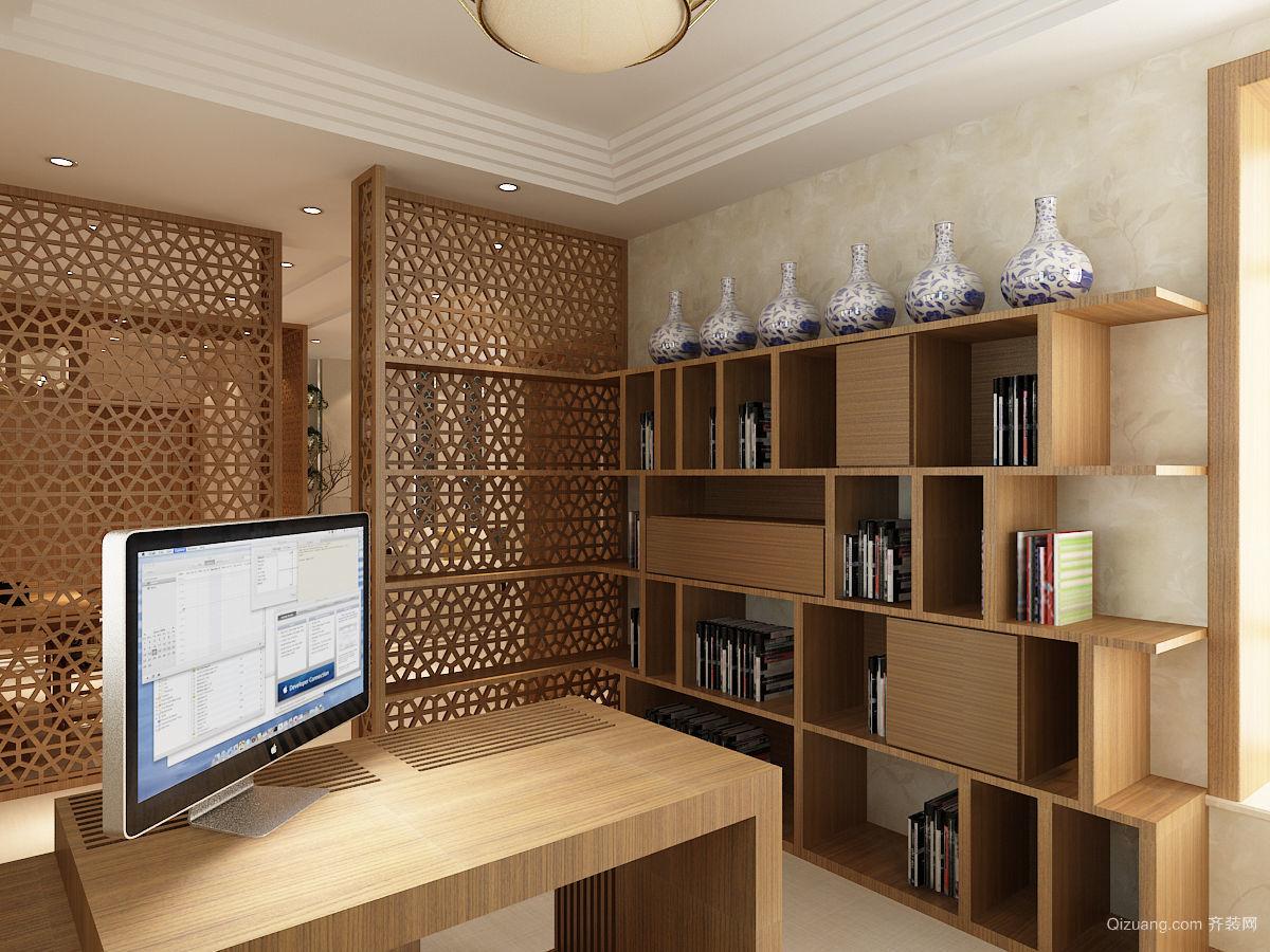 135平米普通风格中式户型家装装修桌面v风格-邢图片广告设计牌图片