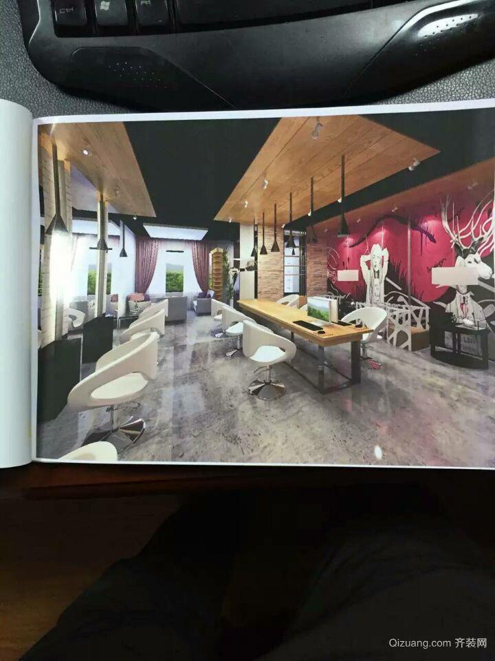 广汇一期  千艺发艺现代简约装修效果图实景图
