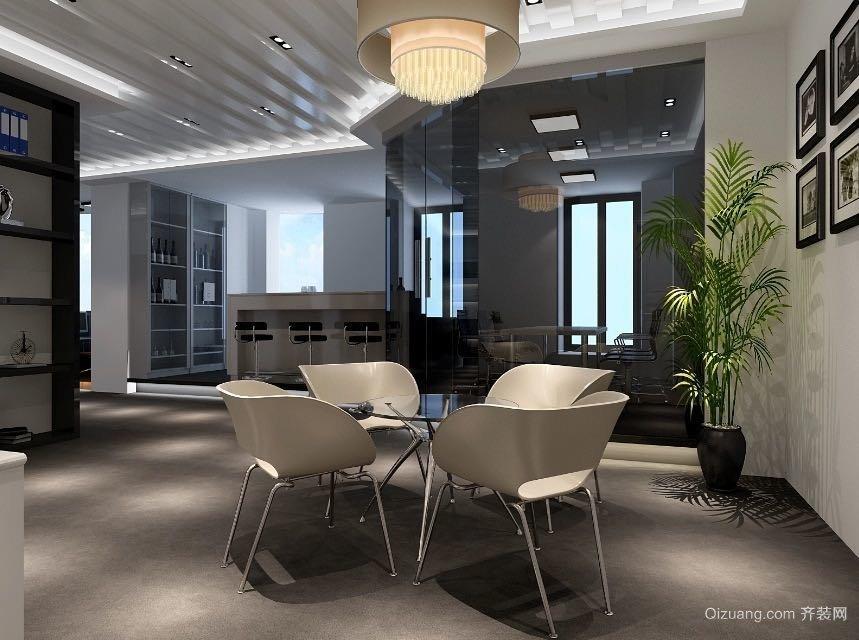 中南双子楼现代简约装修效果图实景图