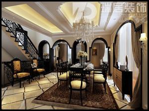 芜湖凤凰城195平古典风格 别墅设计