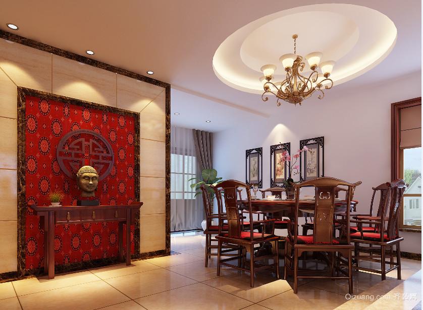 衢州花园中式风格装修效果图实景图