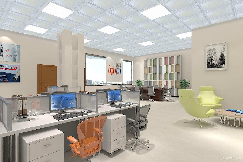 软件科技园现代简约装修效果图实景图