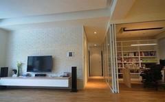 苹果国际公寓美式风格装修案例