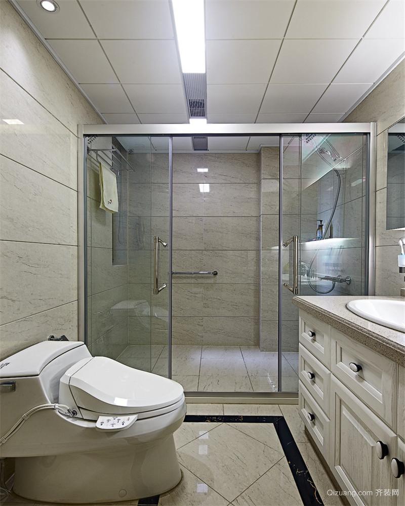 常发豪庭国际中式风格装修效果图实景图