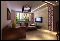 中式风格-红狮家园100平米新中式风