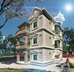 欧式风格-水南村自建别墅