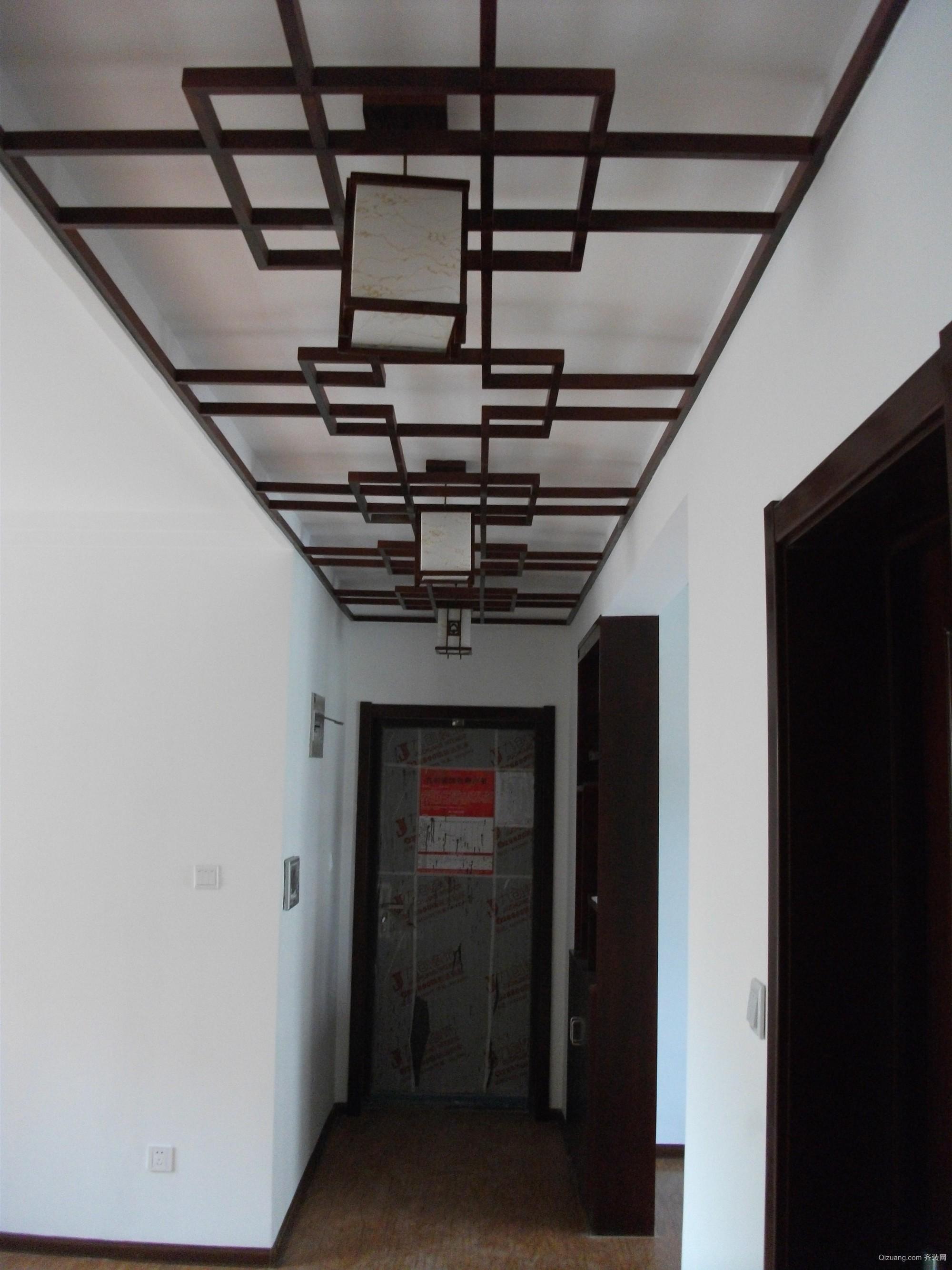济南鲁能领秀城中式风格装修效果图实景图