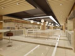 现代简约-美食广场