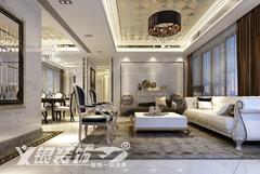 欧式风格-南陵欧式三居室装修