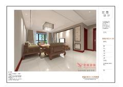中式风格-新园小区老房改造