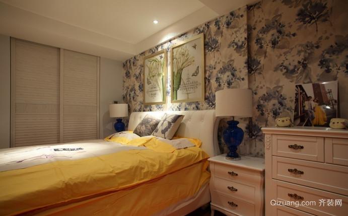 金色蓝庭混搭风格装修效果图实景图
