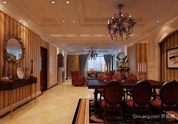 黄府家园美式风格装修效果图实景图