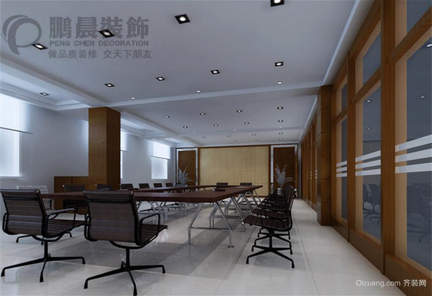 思创办公楼现代简约装修效果图实景图