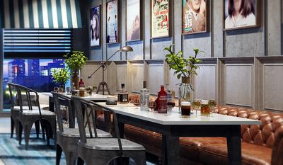 阿坝餐厅装修设计案例