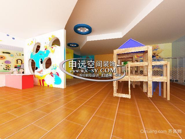 小荧星卡儿秀幼儿园现代简约装修效果图实景图