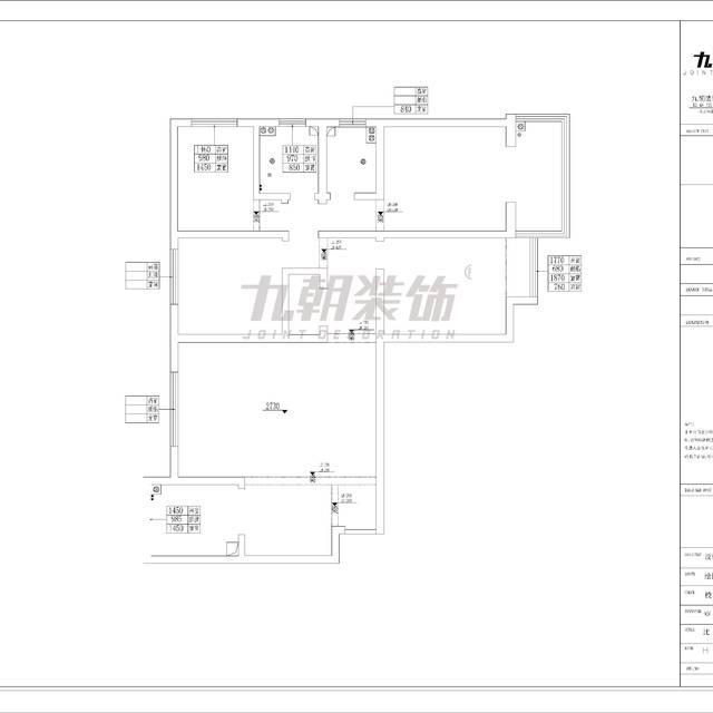 大华月光湖150㎡普通户型欧式风格装修案例